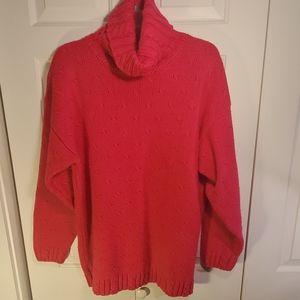 Vintage Karen Scott Turtle Neck Sweater Size L